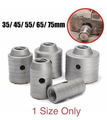 [NEW] 1Size Only 35-75mm Wall Hole Drill Bit Hole Saw Tooth Brick Concrete Cemen