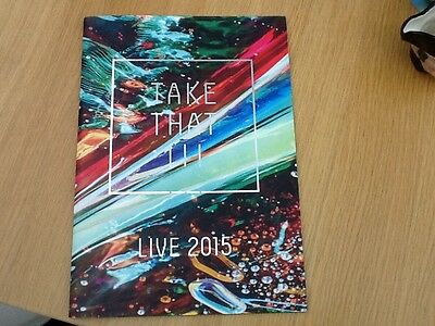 Take That III Tour Programme 2015