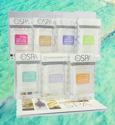 BCL 4-Step Spa Manicure & Pedicure Trial Kits (7 Scents Available) - Organic,...