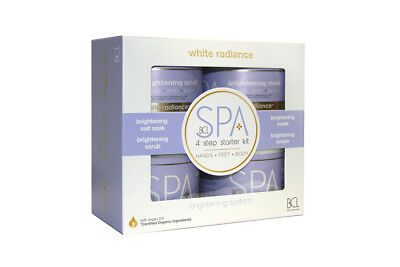 4PC BCL White Radiance Professional Spa Kit (4 X 454ml Pots)