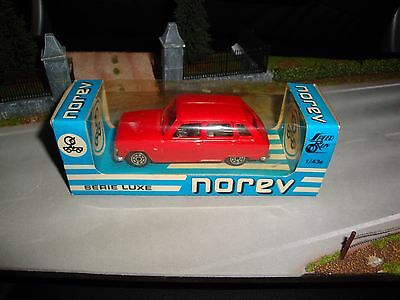 Ancien Norev - Renault 6 - R6 / R 6 phase 1