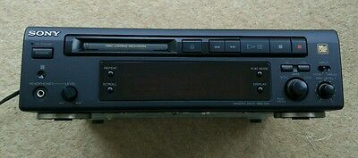 Sony Minidisc Deck Mds-S35 Optical Recorder