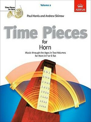 Time Pieces for Horn Vol 2. Music thru the Ages for F/ E flat Horn Grade 4-6 NEW