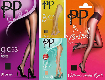 Pretty Polly Woman Ladies Stocking Tights 8-10-15 Denier