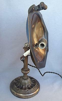 Antique french heater Calor early 1900's made of cast iron and copper