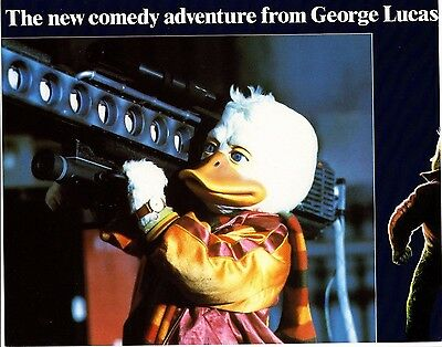 George Lucas HOWARD THE DUCK(1986) Seven  original lobby cards UK POST FREE