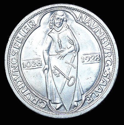 1928-A Germany Silver 3 Reichsmark KM#57 German Coin