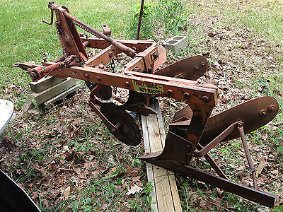 Allis Chalmers 2 Bottom Snap Coupler Plow.  Model 375-16