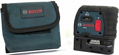 Bosch GPL5 5-Point Self-Leveling Alignment Laser Level *NO RESERVE*