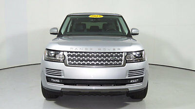 2015 Land Rover Range Rover 4WD 4dr Supercharged 2015 Range Rover V8 S/C, Silver/Black, Low Miles, 1 Owner, $107K MSRP when new!