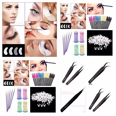 Disposable Mascara Wands Eyelash Extension Glue Rings Micro Brush Under Eye Pads
