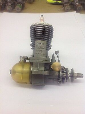 old model airplane engine super cyclone spark ign