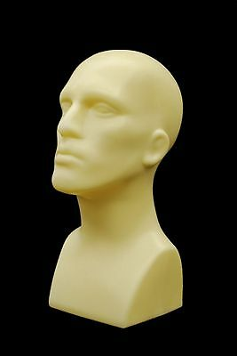 2 Pcs Abstract Male mannequin head Light weight style Display #PS-M-FT-2pcs