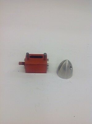 old model airplane engine DC twin exhaust throttle