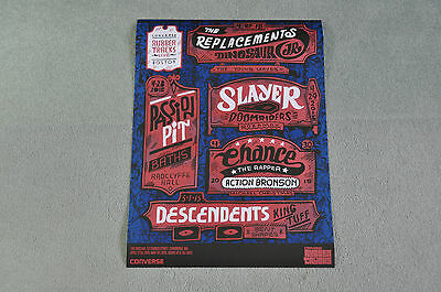 THE REPLACEMENTS, & OTHER ARTISTS, LIVE, Cambridge ,April 27-May 1, 2015 Poster
