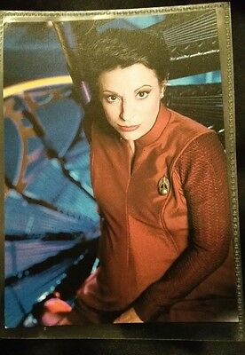 Star Trek DS9 postcard Kira Nerys