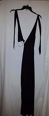 Leg Avenue Black Negligee One Size Fits Most