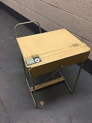 Triang 1950s Child's Desk And Folding Chair Vintage