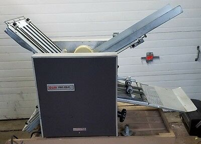 GBC O&M Pro Fold Friction Feed Paper Folder