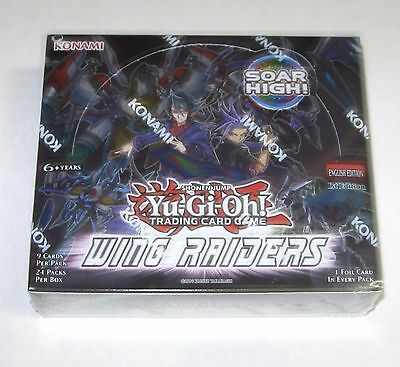 YUGIOH WING RAIDERS  Booster Box 1st edition Sealed  Yu-Gi-Oh