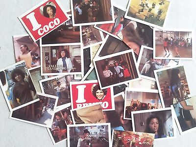 """Lot de 34 Stickers """"The Kids from FAME"""" 1983"""