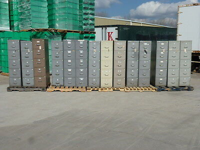 5-Drawer Steel Filing Cabinet, Most Have Hanging Files In Them, Your Choice