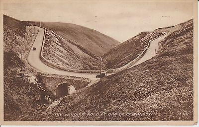 Caithness - The Winding Road At Ord Of Caithness  -Real Photo Early Postcard -