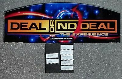 Atronic eMotion DEAL OR NO DEAL RAPID BLUE Plexi Glass & Software Set