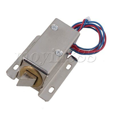 12V Left Cabinet Door Electric Lock Assembly Solenoid Lower Consumption