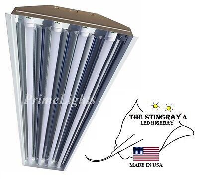 STINGRAY 4XL T8 LED Light 88Watt -  Warehouse, Shop, BRIGHT, Commercial NEW