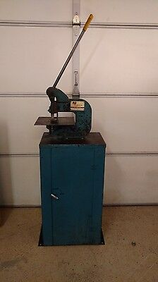 ROPER WHITNEY #118 No. 118 PUNCH PRESS WITH STAND 4 Ton Soft Steel Capacity