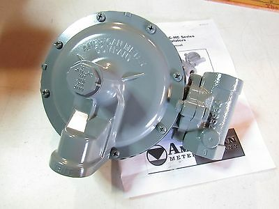 "AMERICAN METER Gas Pressure Regulator 1813C 9/16"" SPR 6.0""-15.0""  SH7"
