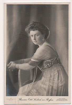 Vintage Postcard Duchess Sophia Charlotte of Oldenburg,Princess Eitel Friedrich