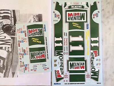 1/24 Darrell Waltrip #11 1981-82 Nascar Champion Decals  By Wet Works