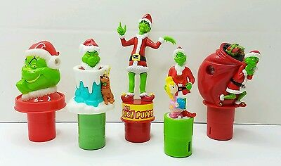 Grinch Jim Carey Grinch Christmas Toys Picture Viewer Push, Puppet, Pop Up, VHTF