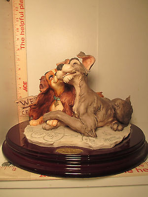 """Giuseppe Armani """"Lady And The Tramp"""" Signed Limited edition 33/750"""