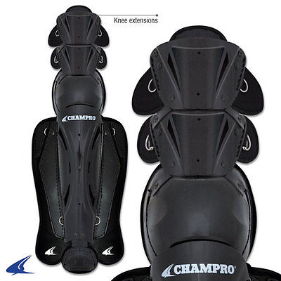 Champro Hockey Style Baseball Umpire Leg Shin Guards