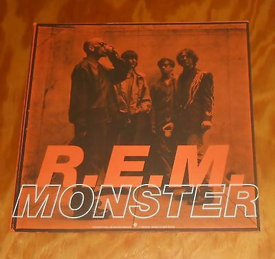 R.E.M. Monster Poster 2-Sided Flat Square 1994 Promo 12x12