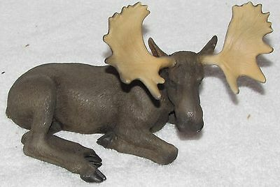 Castagna of Italy Reclining Moose Figurine Sculpture Buy It Now
