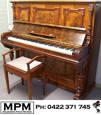 Richard Lipp upright German piano - FREE delivery, tuning, warranty**