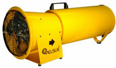 NEW Pelsue 1375D Blower w/15' 120V Blower Hose and Cannister