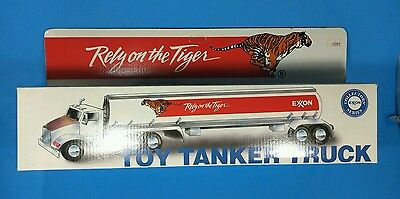 Exxon Toy Tanker Truck NIB Rely on the Tiger Collectors Series w/ Lights & Sound