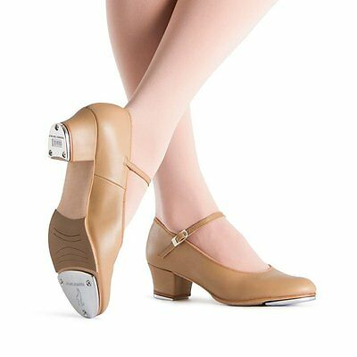 Bloch Show-Tapper Womens Tap Shoe BNWT Tan Colour Free Shipping