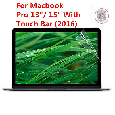 "Anti Glare Matte Screen Protector Film for Mac Book Pro 13"" & 15"" With Touch Bar"