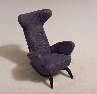 Doll House Chair : Raine - Take a Seat Series Purple High Back Lounge