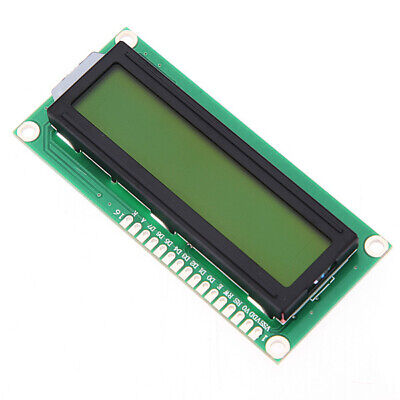[NEW] 1Pc 1602 Character LCD Display Module Yellow Backlight For Arduino