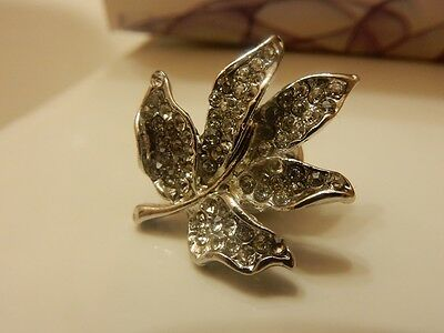 Gold & Silver Maple Leaf Suit Pin - 2 for $12
