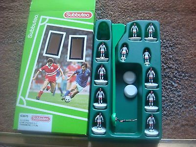 Boxed Subbuteo L/W Light Weight Team No 63670 Auxerre Karlsruher Tranmere Lyon