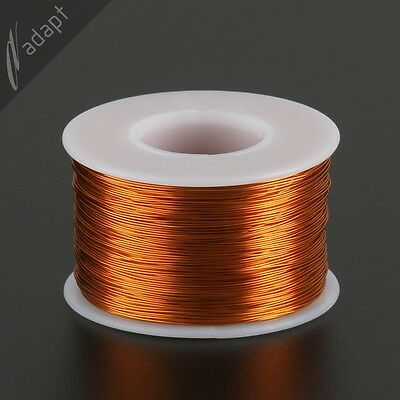 25 AWG Gauge Magnet Wire Natural 500' 200C Enameled Copper Coil Winding