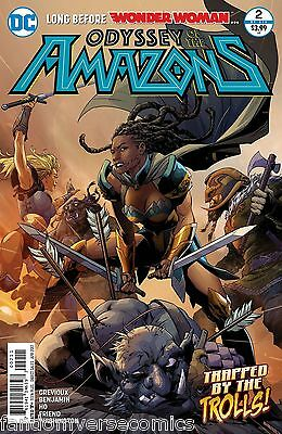 Odyssey Of The Amazons #2 (Of 6) (2017) Dc (2/15/17)